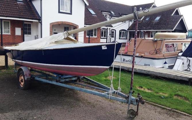 Reedling Keel Boat - No 9