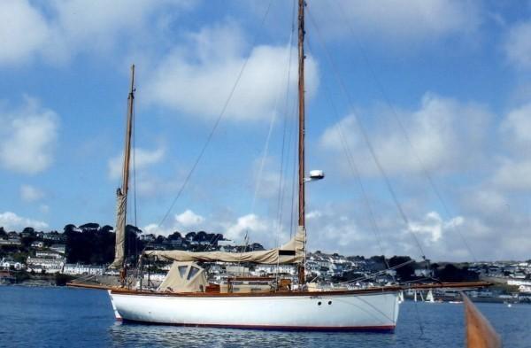 R.S. Burt - Falmouth Quay Punt Yacht