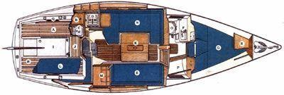 Sadler - 29 bilge keel