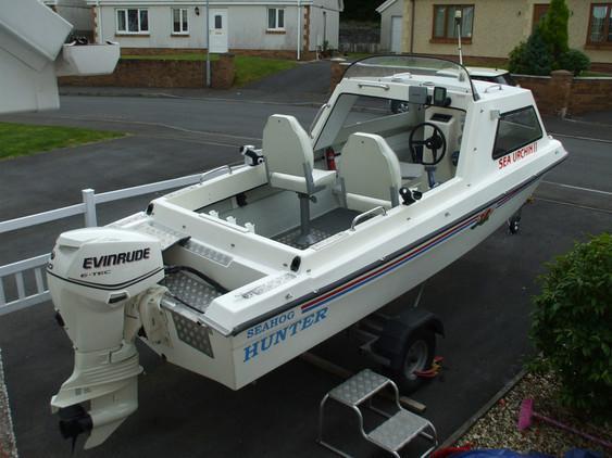 Seahog - Hunter Boat & NEW Engine E-Tech 50 HP 2011