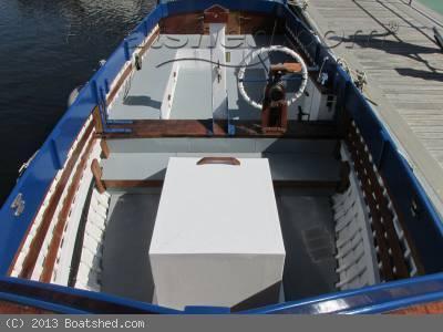 Thornycroft - Wooden Motor Launch