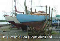 Tumlare 27ft Tumlare, Wooden Bermudan sloop