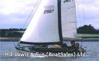 Twister 28 ft Holman and Pye, Wooden Bermudan sloop