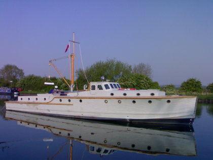 Fleet Air Arm Pinnace Fast Seagoing Motor Boat, Falmouth