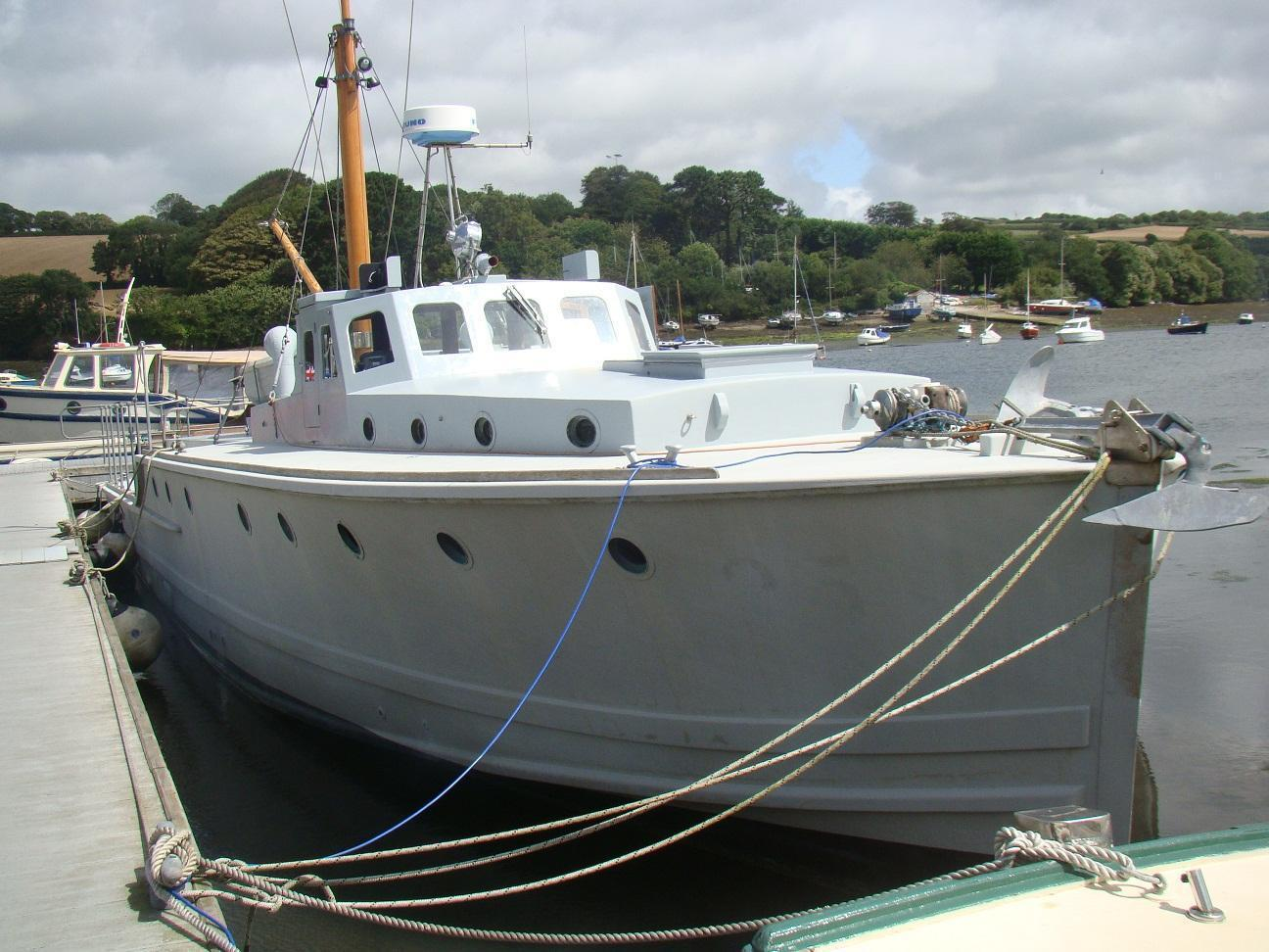 Admiralty Fast Sea-going Motor Boat, Cornwall