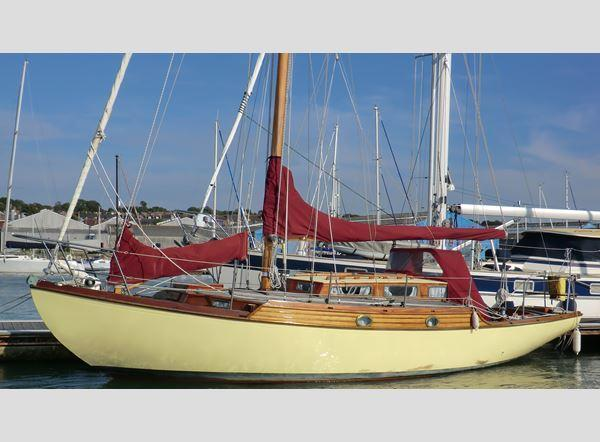 Classic Wooden Sloop, Cowes, Isle of Wight