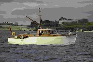 Watson twin engine motor yacht, Newport