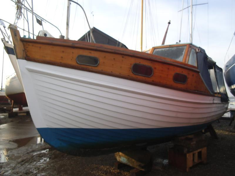 Frank Halls & Son 24' 9 Traditional Fishing Boat, West Mersea, Essex