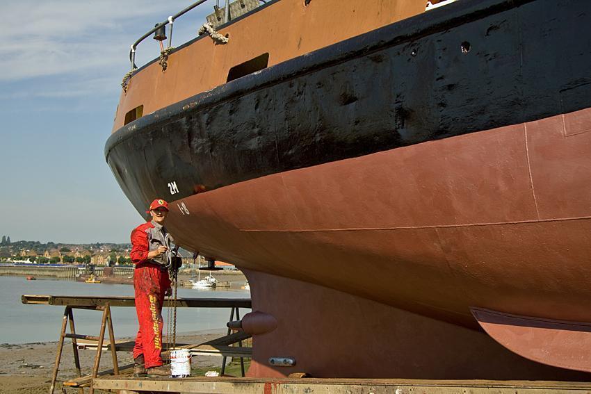James W Cook & Co Pilot Boat / Houseboat, Kent