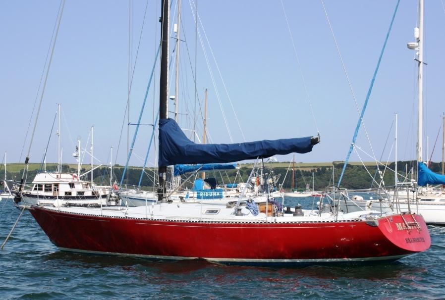 C & C Race boat
