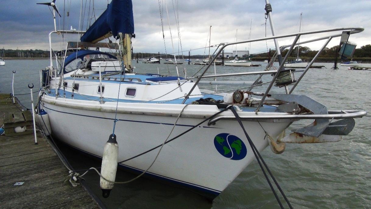 Westerly Conway 36, Hamble Point Marina