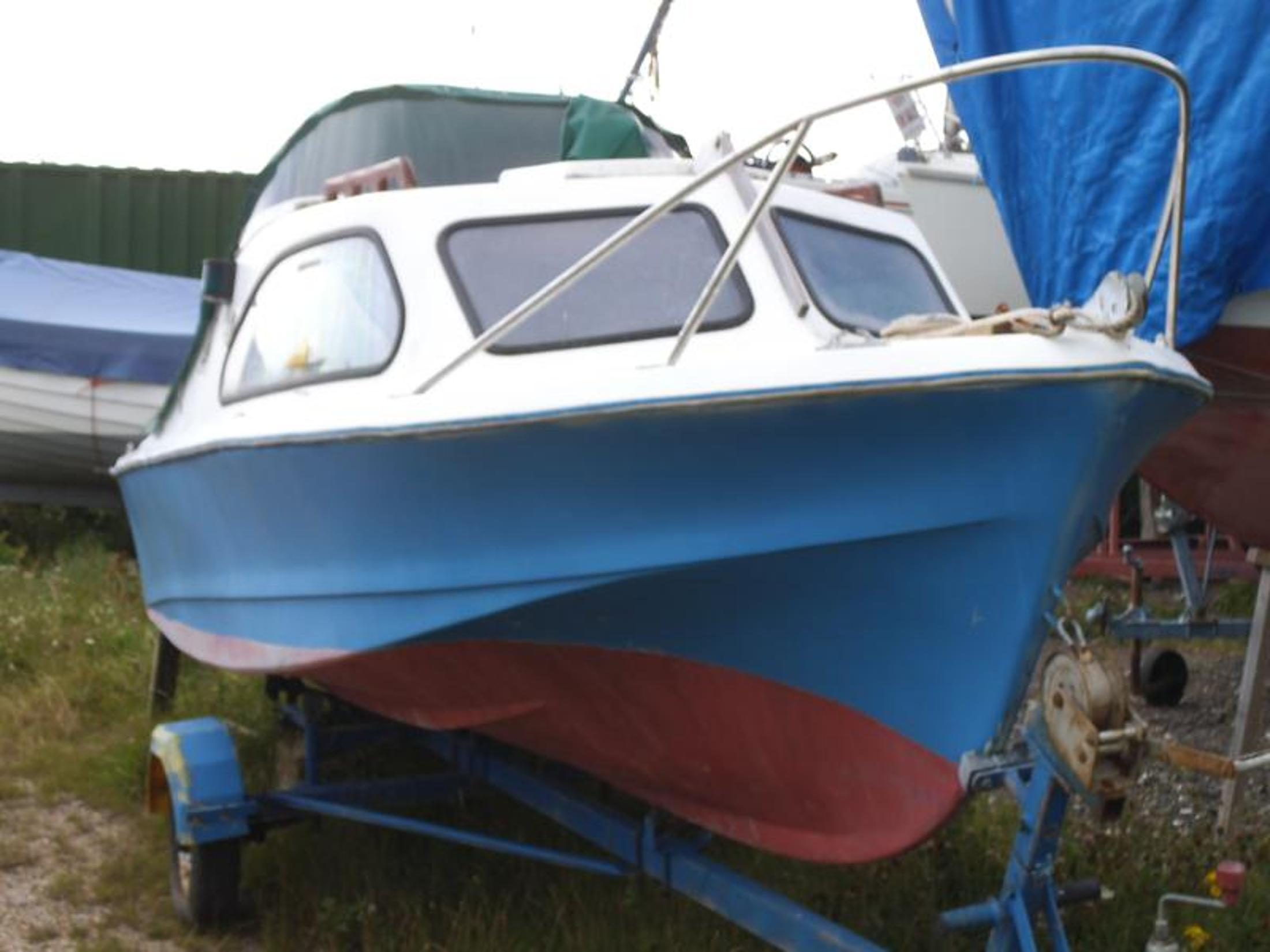 Shetland 535 Fishing Boat, Walton On The Naze, Essex