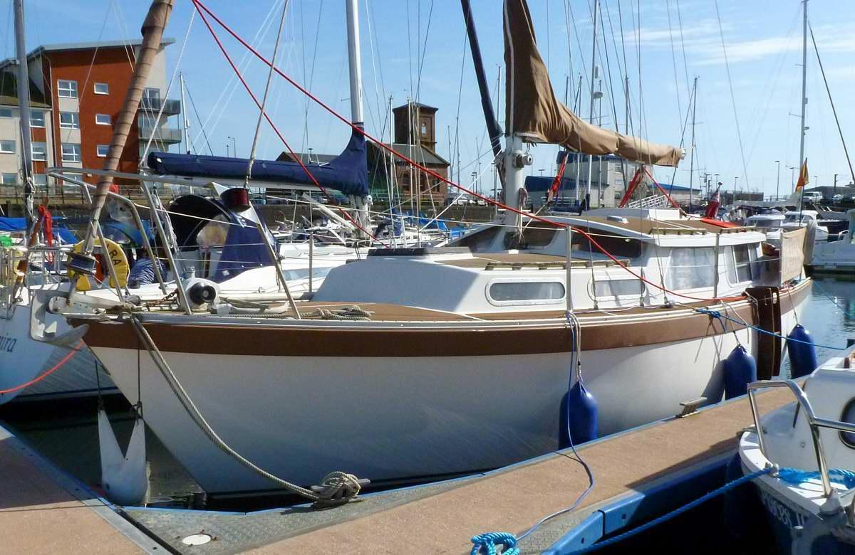 Trident Voyager 30, Fairlie, North Ayrshire