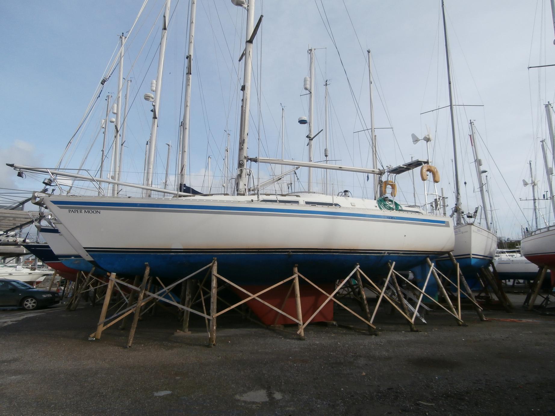 Moody 37, Plymouth, Devon