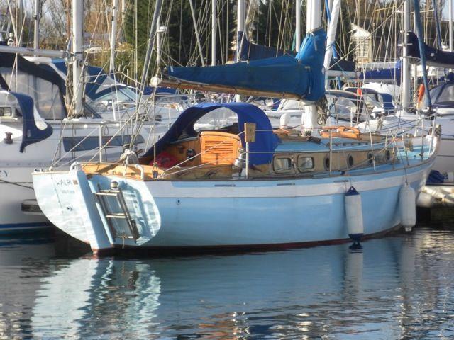 Wanderer Wooden Sail Boat, Chichester, West Sussex