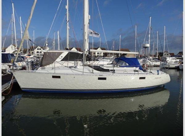 Beneteau Oceanis 390, Port Solent, near Portsmouth