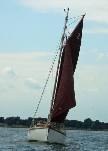Gaff Cutter , Emsworth, Hampshire
