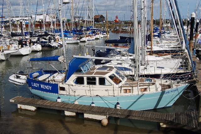 Cromarty 36 Mk II, Tollesbury Marina, Essex