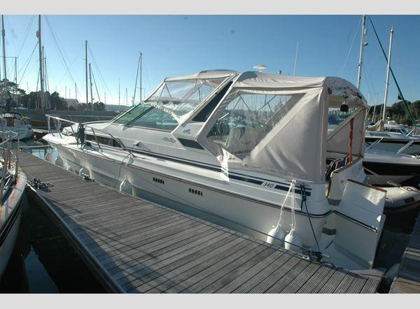 Sea Ray 340, Falmouth, Cornwall