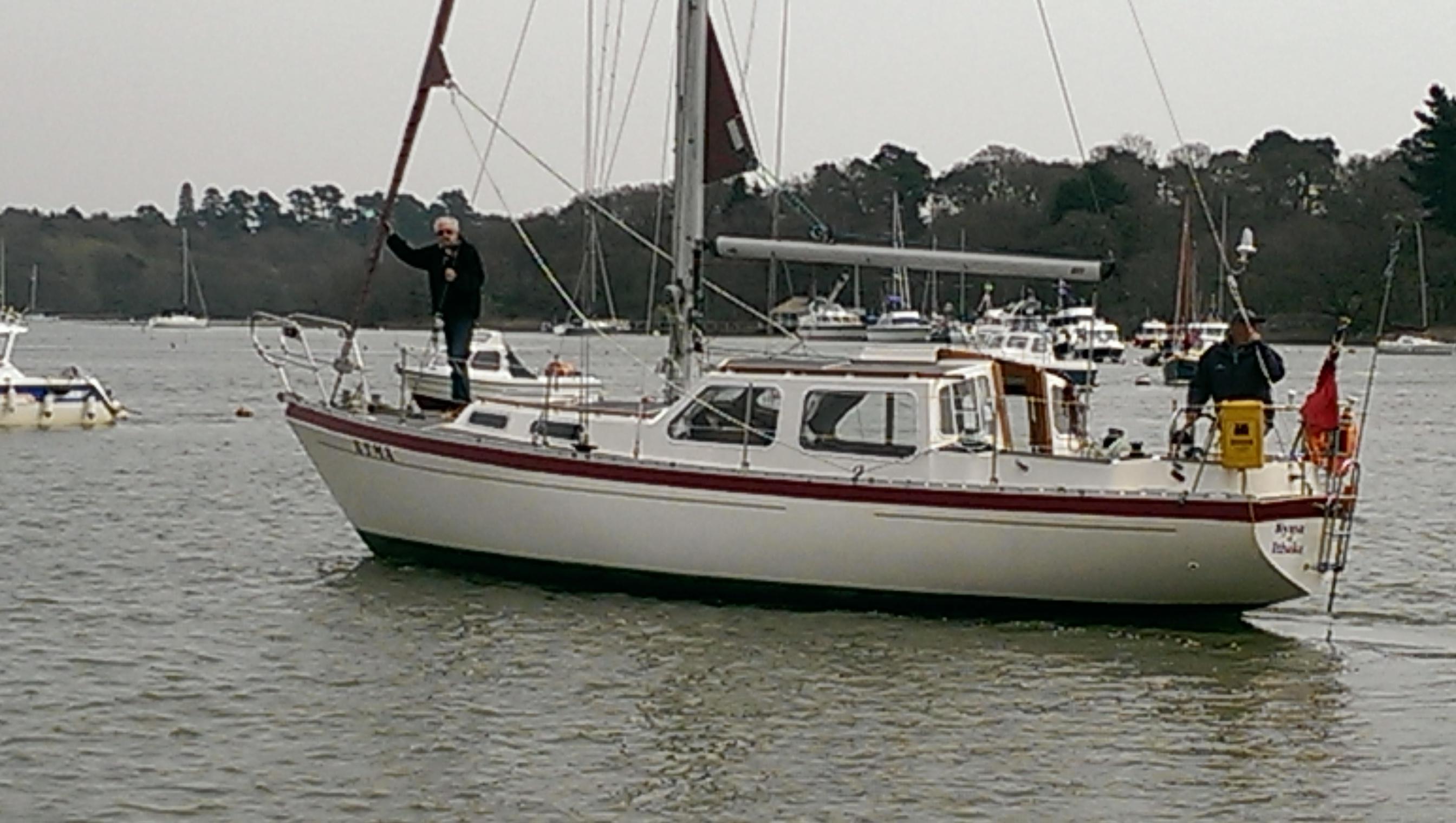 Trident Voyager 35, Beaulieu River