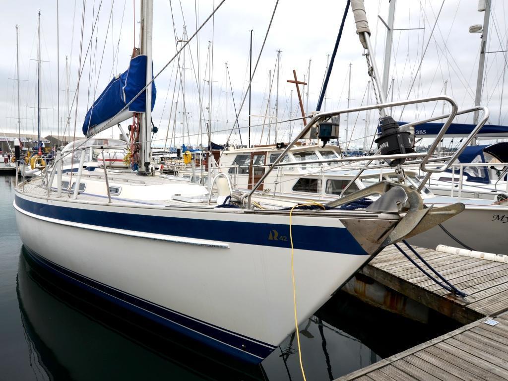 Hallberg Rassy 42F, Plymouth, Devon