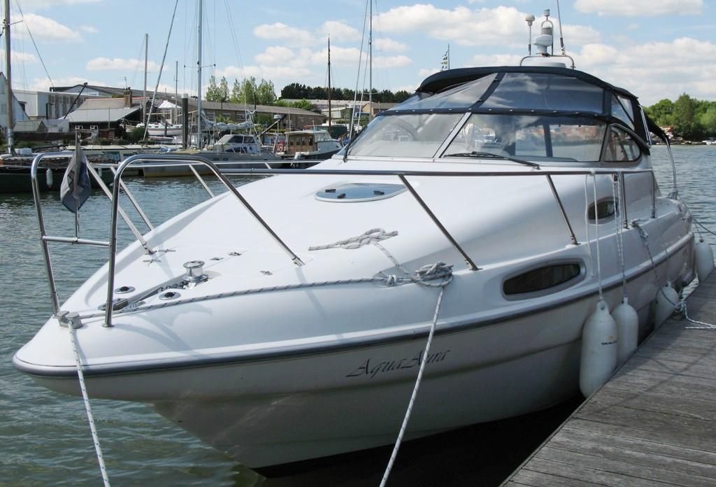 Sealine 310 Ambassador, Hamble River Boat Yard, Hampshire