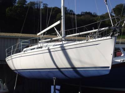 Elan 333, South Devon