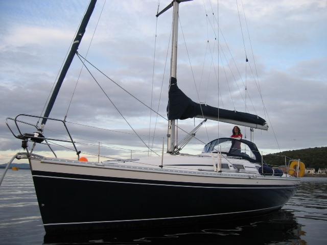 Elan 333, Kip Marina, Renfrewshire