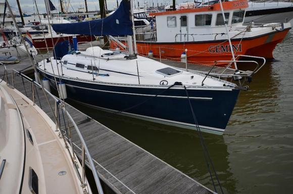 Elan 333, Essex Marina