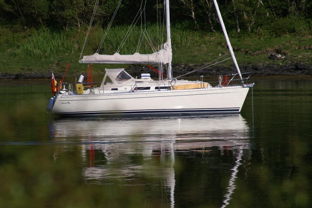 Hanse 312, Hamble Point Marina, Hampshire