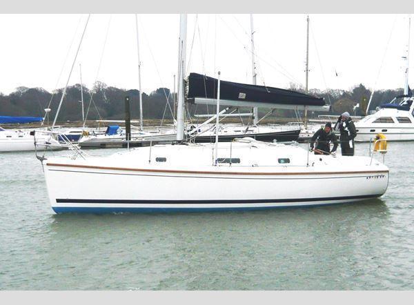 Sadler 290 B/K, Port Hamble near Southampton