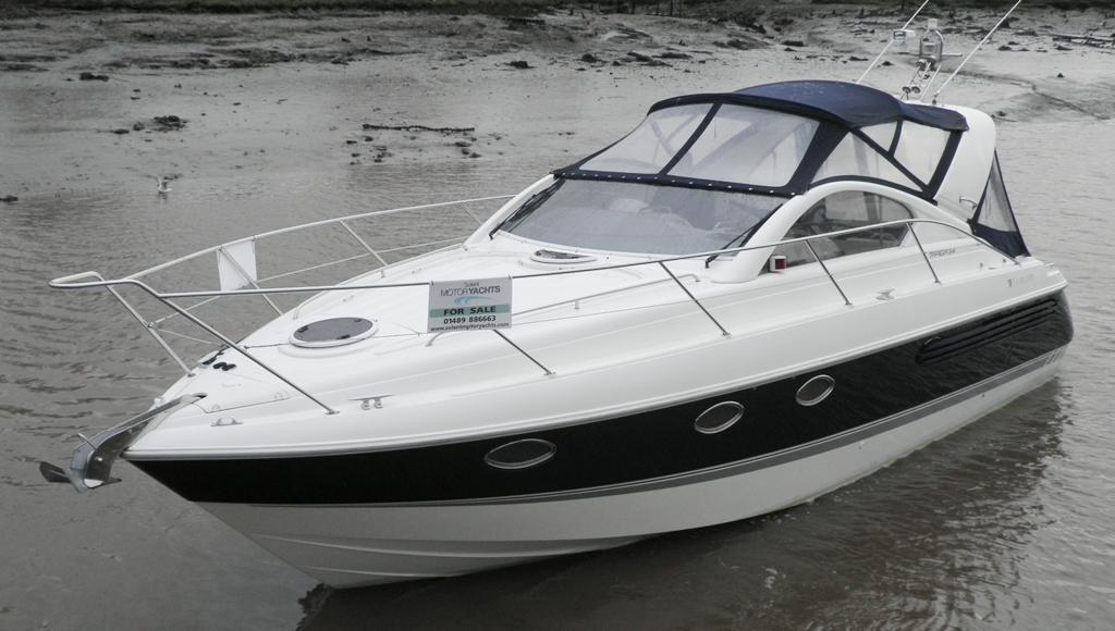 Fairline Targa 34, Hamble River Boat Yard, Hampshire