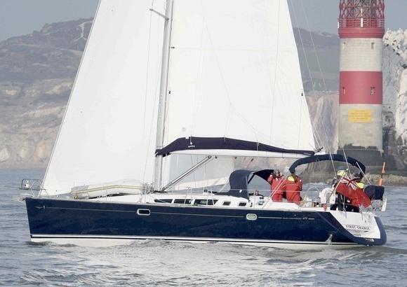 Jeanneau Sun Odyssey 49, En Route to Essex