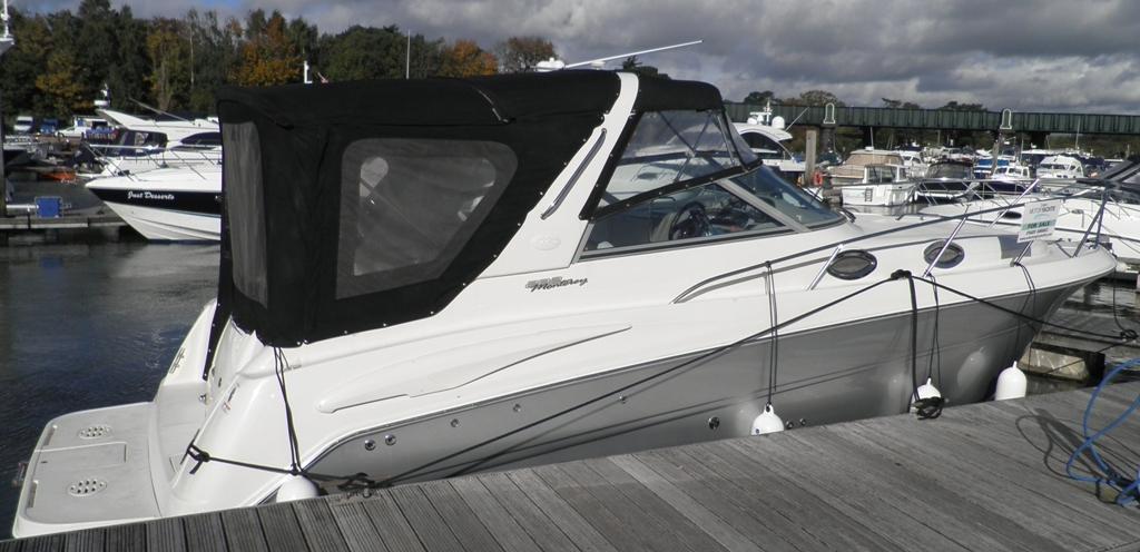 Monterey 282, Hamble River Boat Yard, Hampshire
