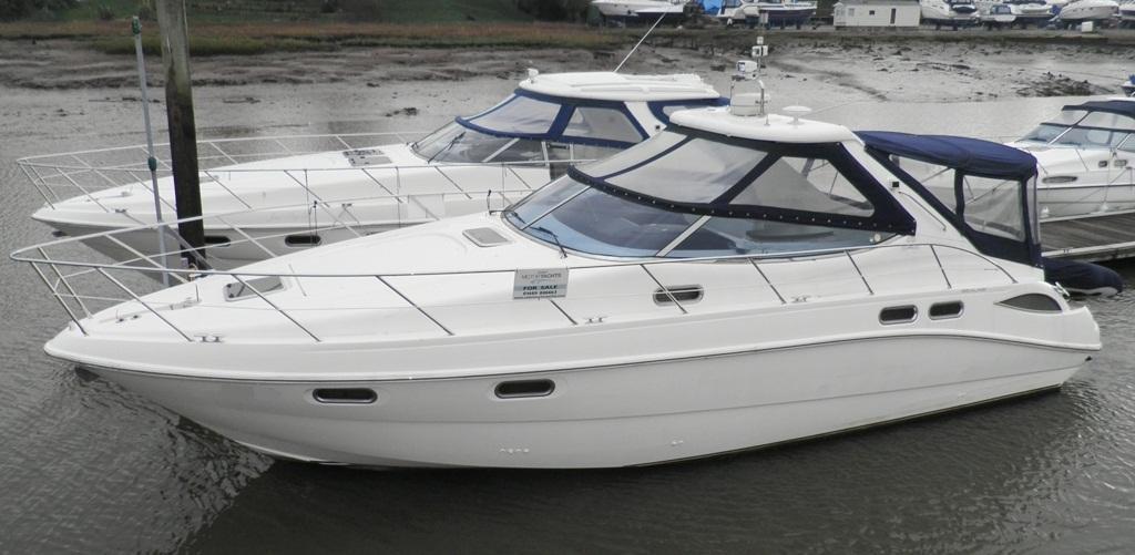Sealine S42, Hamble River Boat Yard, Hampshire