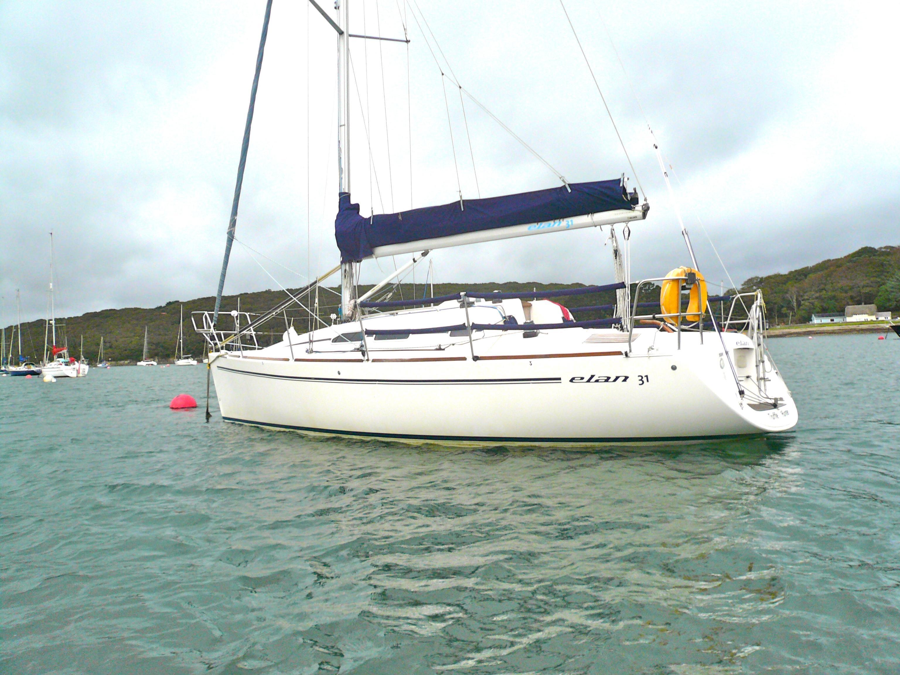 Elan 31, Cornwall