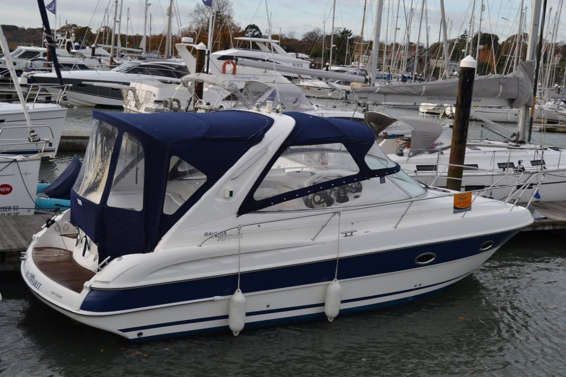 Bavaria Motor Boats 30 Sport, Swanwick Marina, Southampton, Hampshire