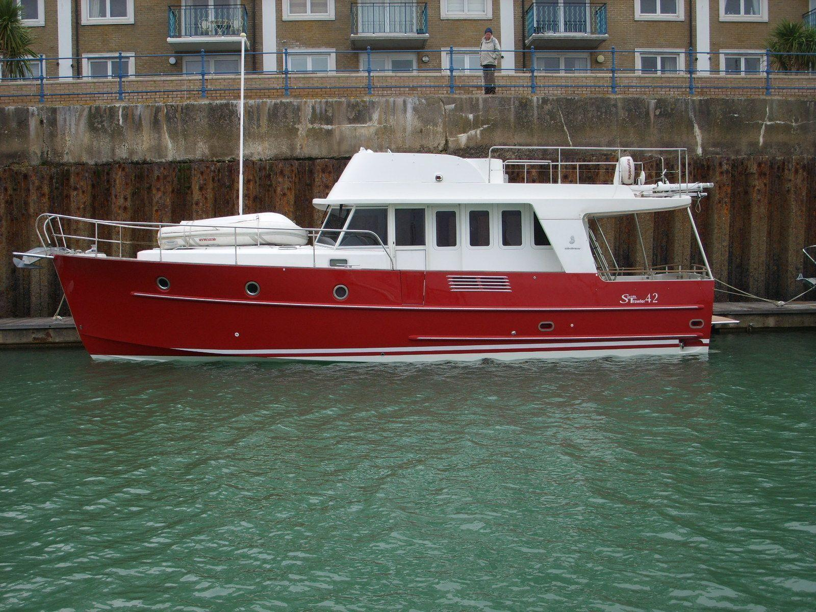 Beneteau Swift Trawler 42, Swanwick Marina, Hampshire