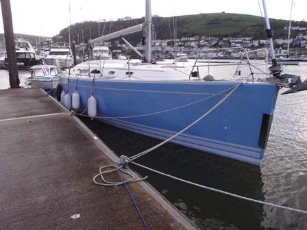 Hanse 400, Dartmouth, Devon