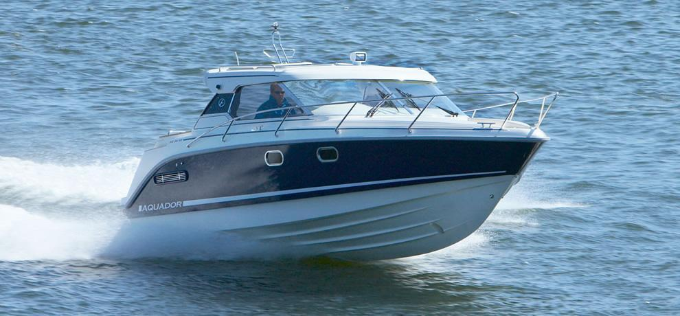 Aquador HT 26, Channel Islands