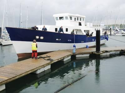 Mould 24M Displacement Motor Boat, Plymouth