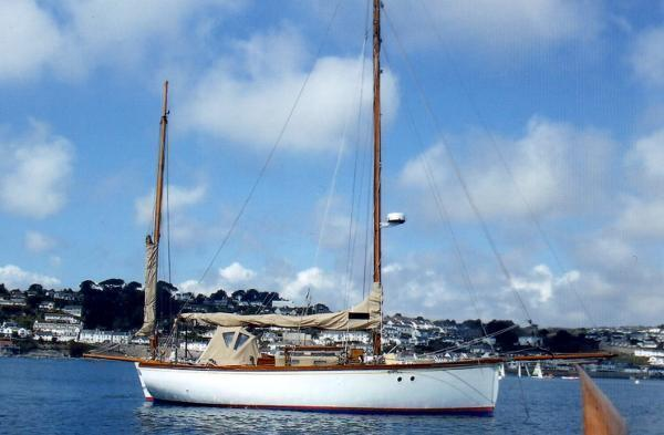Falmouth Quay Punt Bermudan Yawl