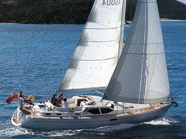 Oyster 45 Deck Saloon