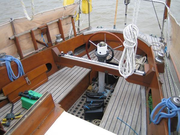 Wooden Bermudan Sloop One Off